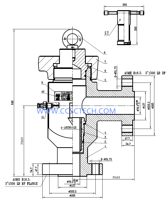 Oilfield Wiring Diagrams : H positive choke valves fixed
