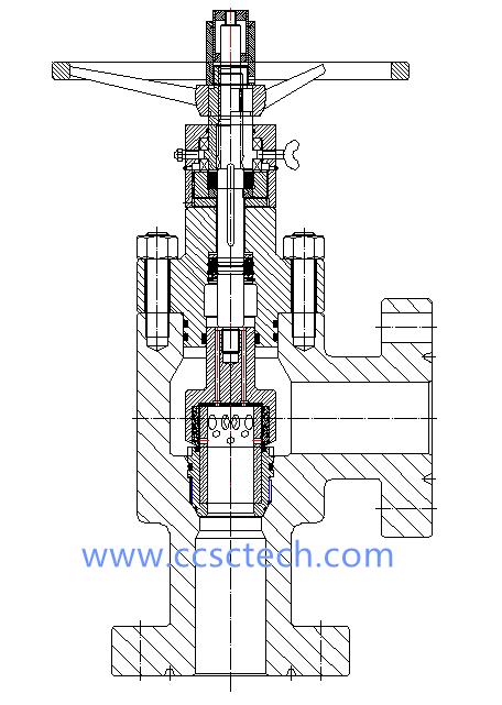 external sleeve choke valve