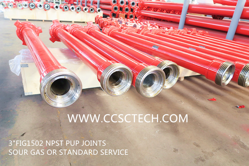 NPST pup joints flow line pipe